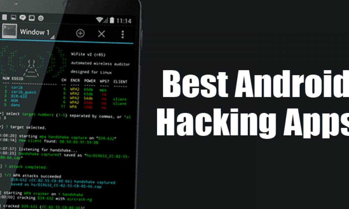 The Best Free hacking App and get enjoy