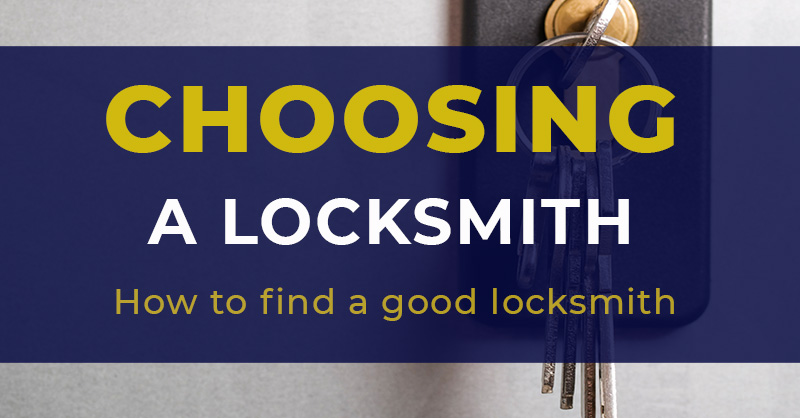 How to Choose a Trusted Locksmith Company
