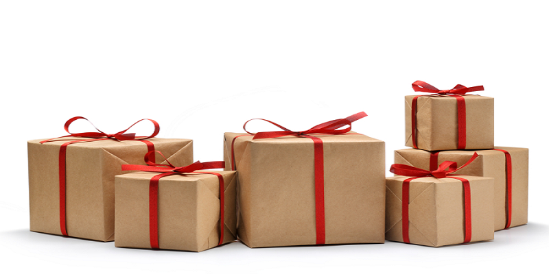 How To Pack Birthday Gift In A Gold Foil Gift Box