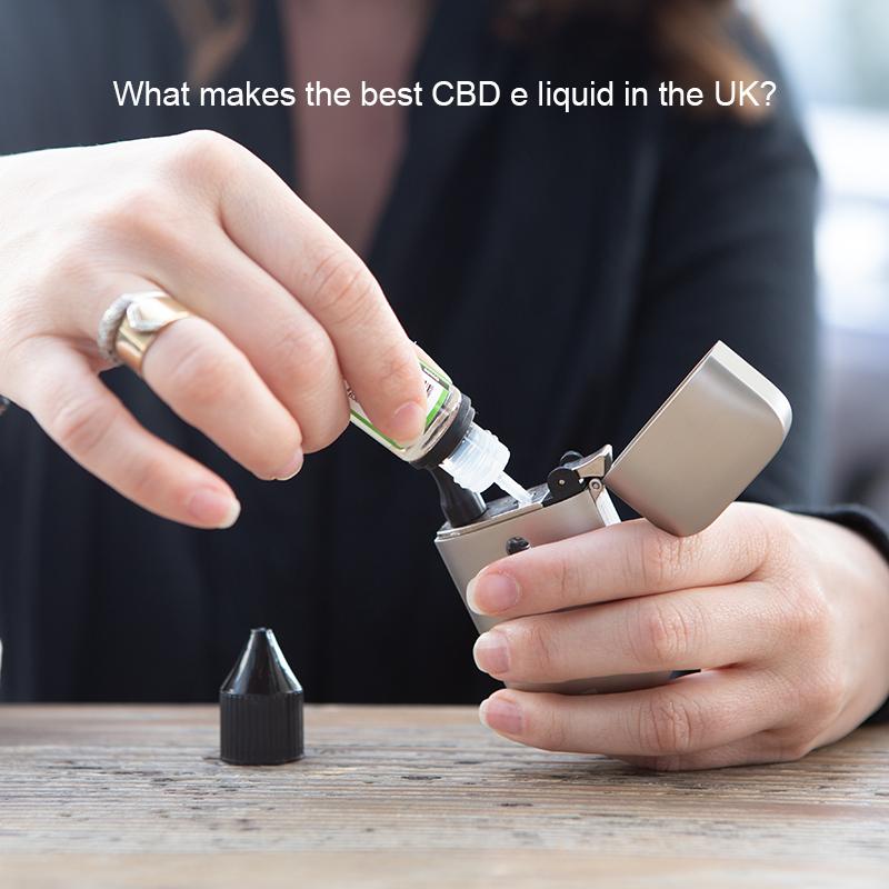 What Makes the Best CBD E Liquid in the UK?