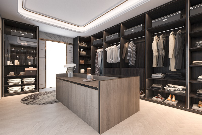 are built-in wardrobes